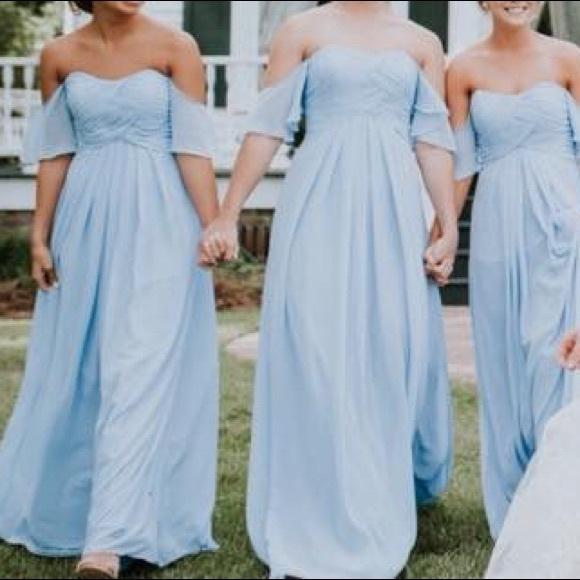 b90a546a926e Mori Lee Dresses   Cornflower Blue Dress   Poshmark